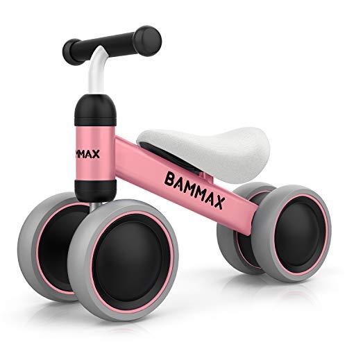 Bammax Kinder Laufrad Lauflernrad Balance Fahrrad ohne Pedale Dreirad Spielzeug für 1 Jahr, Erstes...