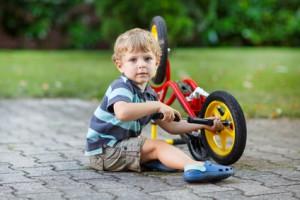 Pflege Laufrad